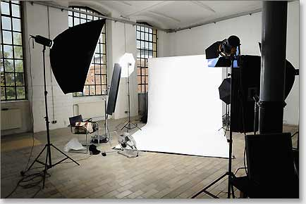 Unser Fotostudio