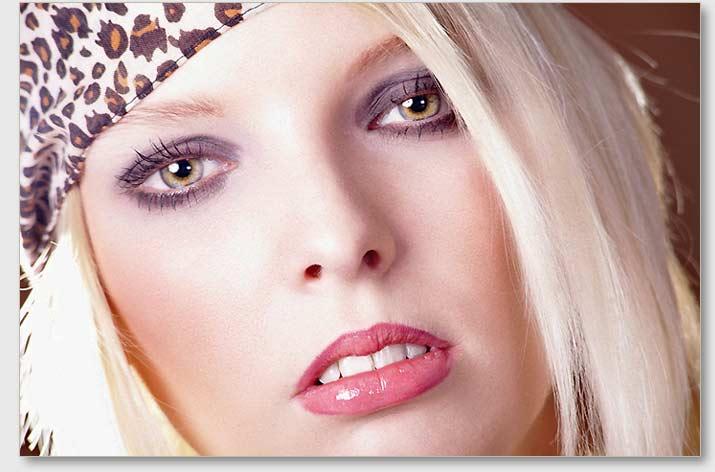 Werbefoto für die Kosmetikbranche.